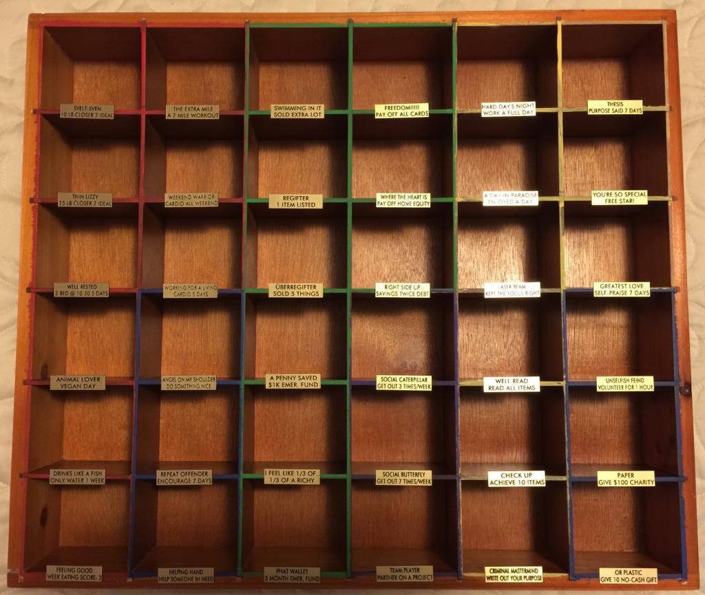 Blank Achievie Shelf