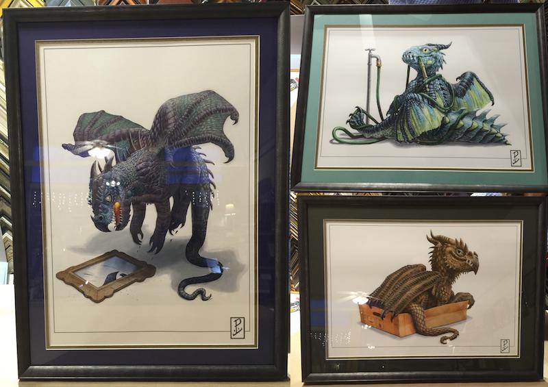 Dragon Prints